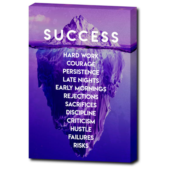 The Iceberg of Success (Magenta Edition)