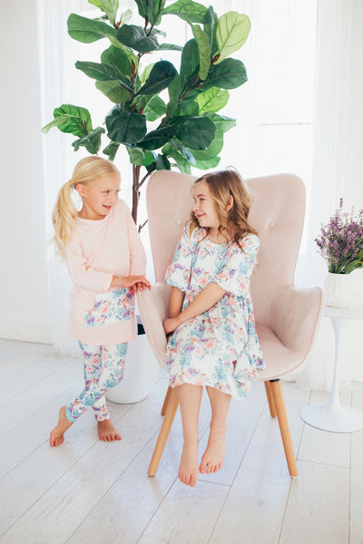 Spring Flowers Tunic Set