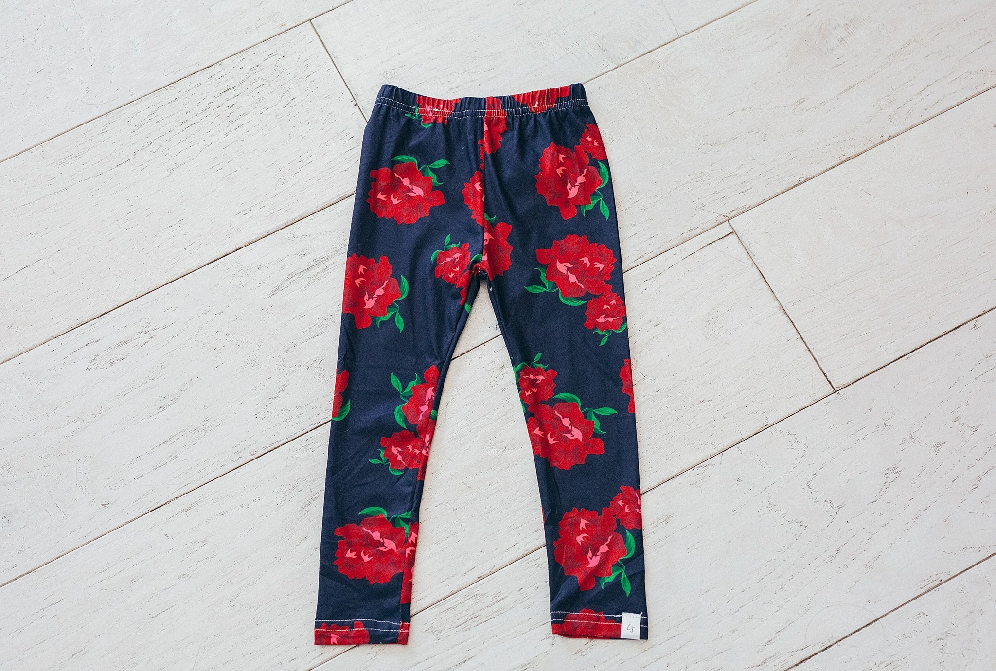 Navy and Rose Leggings
