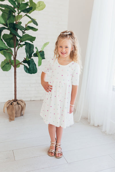 Unicorn Dress, Girls Twirl Dress, Unicorn Twirl Dress, Girls Dress, Dresses for Girls, Toddler Twirl Dress, Boutique Dress girls, unicorn