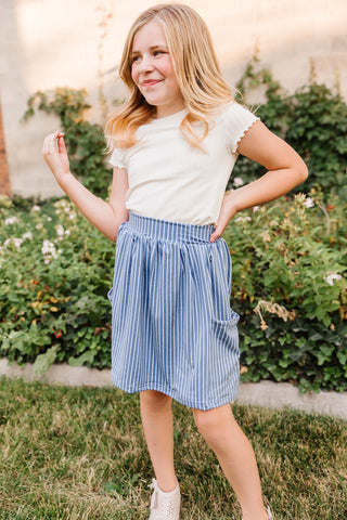 Sailor Girl Pocket Skirt