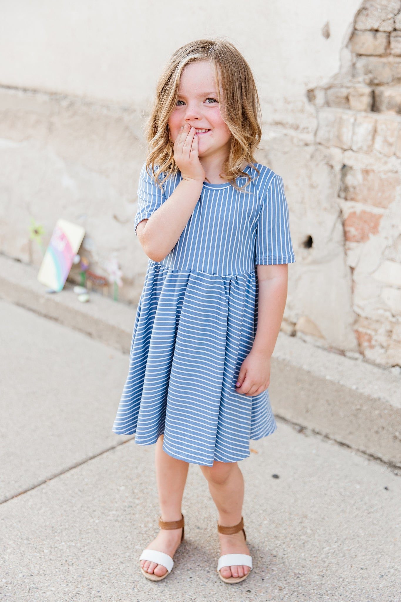 Sailor Girl Twirl Dress