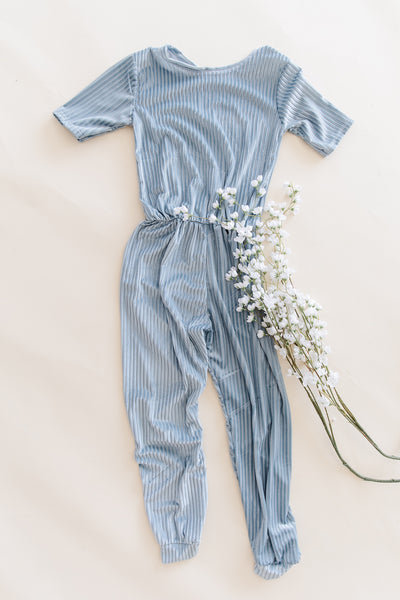 Blue Willow Romper