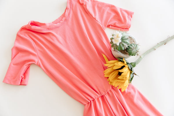 Strawberry Lemonade Romper