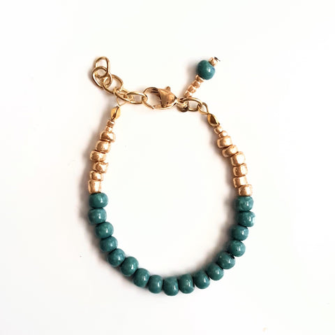 Hunter Green Bracelet