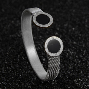 Adjustable stainless steel bracelets