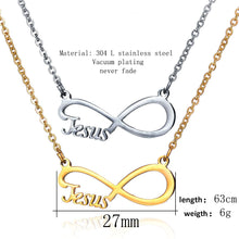 Jesus stainless steel necklaces