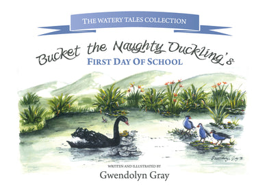 Bucket the Naughty Duckling's First Day of School