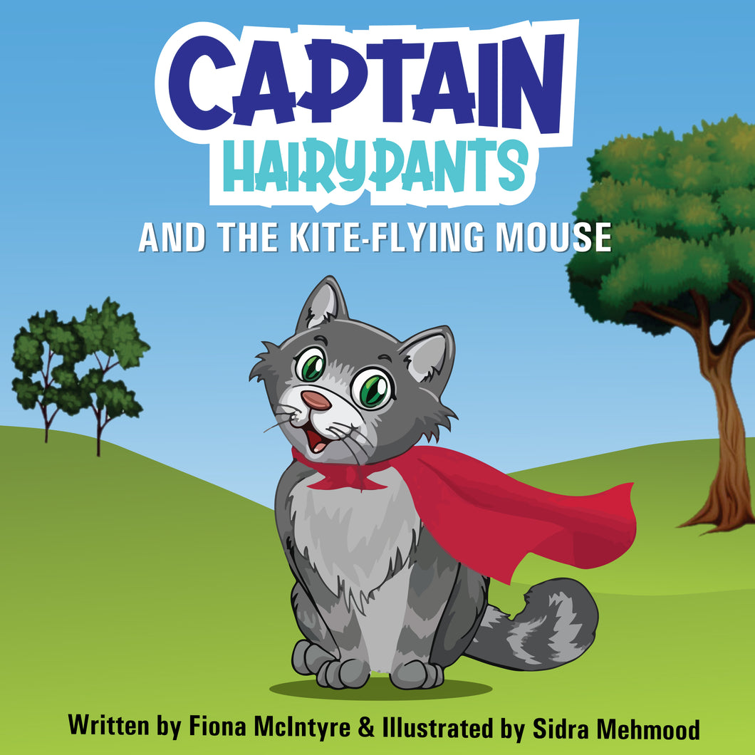 Captain Hairypants and the kite-flying mouse