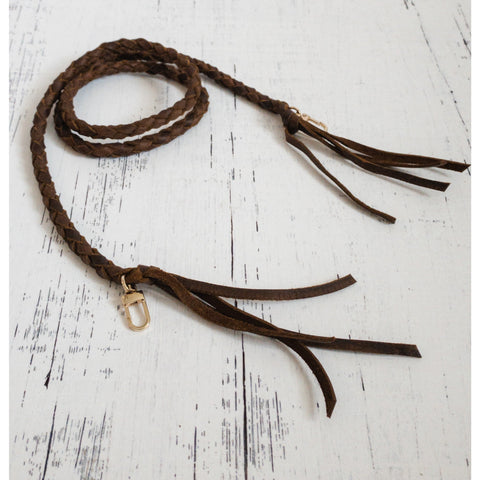 Hand Braided Leather Straps