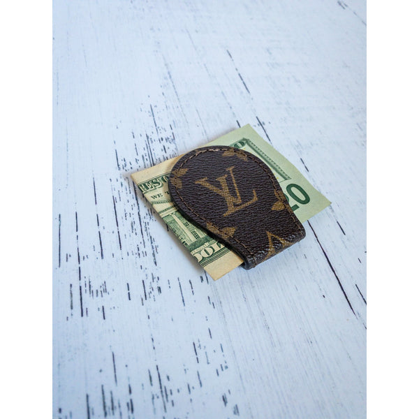 Repurposed LV Money Clips