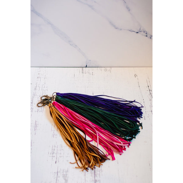 Leather Jumbo Tassels