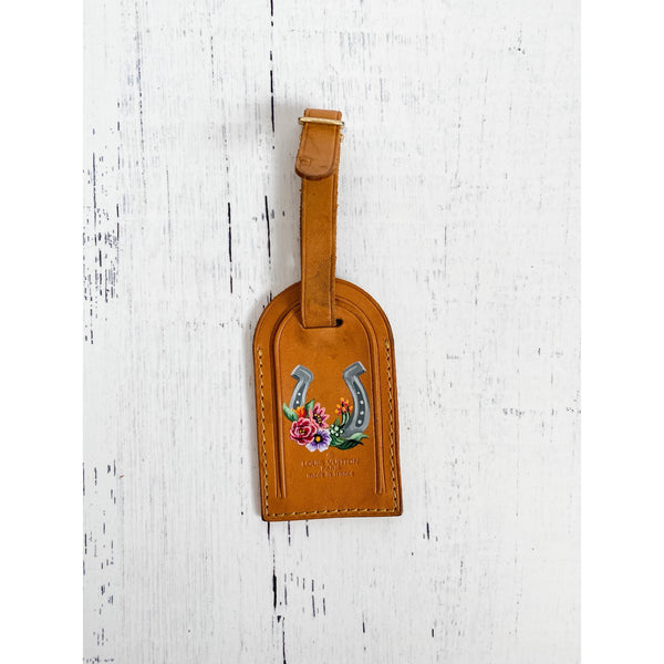 Painted Luggage Tags