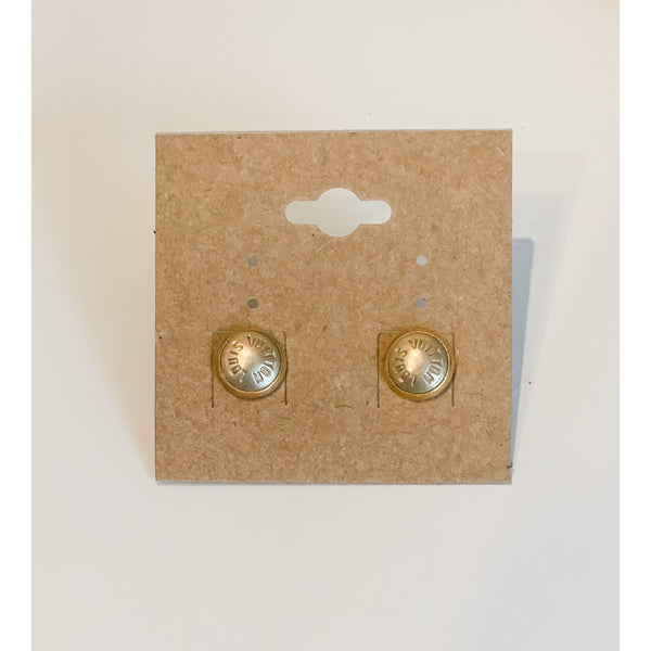 LV Rivet Stud Earrings