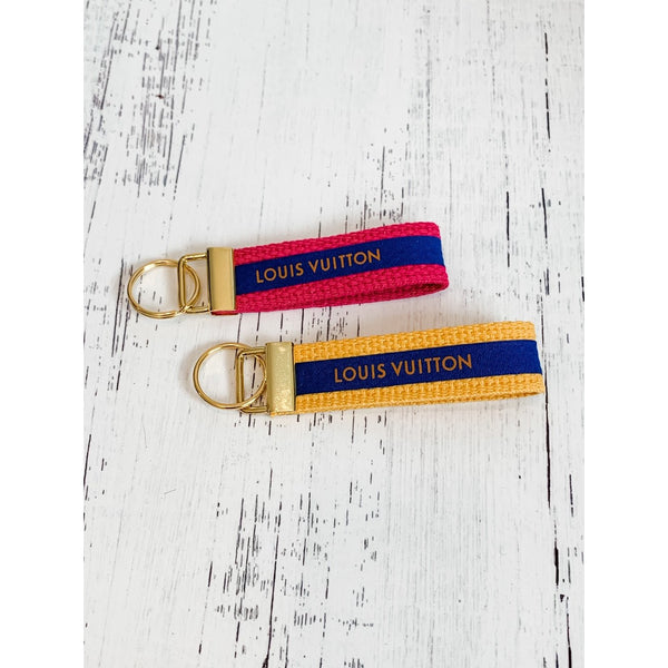 LV Ribbon Key Fob