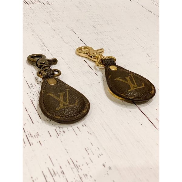 Repurposed LV Key Chain