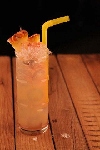 Whistler African Style rum the Red Sunset Rum Cocktail
