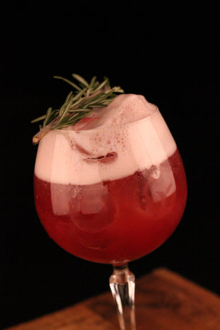 Whistler African Style RUM, RASPBERRY AND TONIC COCKTAIL