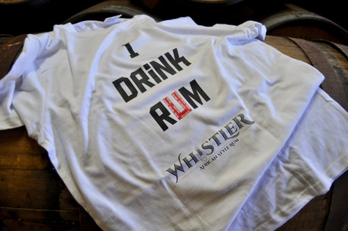 I drink rum t-shirt