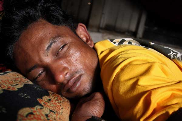 Refugees hiding in Malaysia's jungles