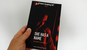 New look for She Has A Name paperback - available on Amazon