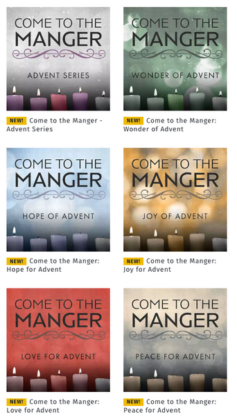 Come to the Manger Advent Series by Andrew Kooman