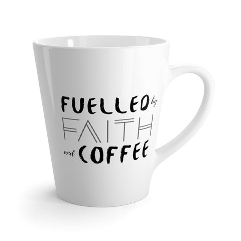 Fuelled by Faith and Coffee - Mug on AndrewKooman.com