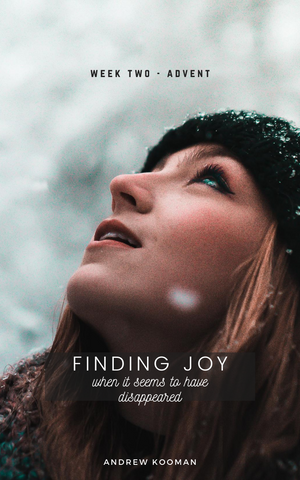 Finding Joy (when it seems to have disappeared)