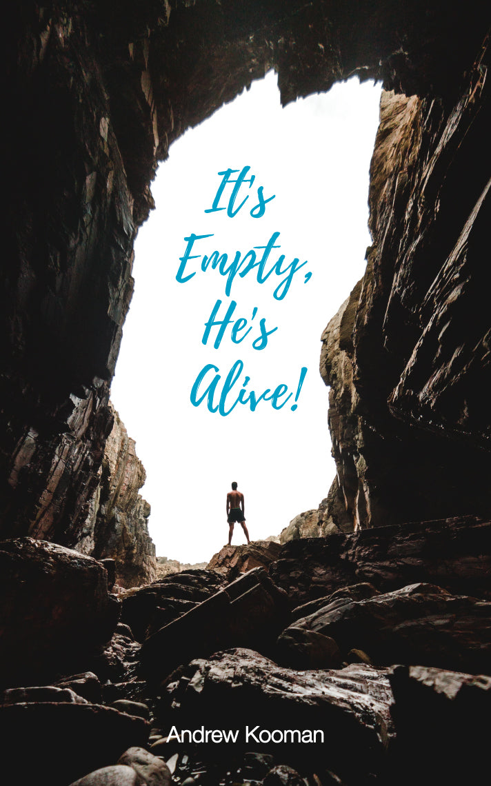 It's Empty, He's Alive - an Easter skit by Andrew Kooman