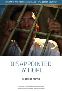 Disappointed by Hope - Stories about migrants and refugees by Andrew Kooman