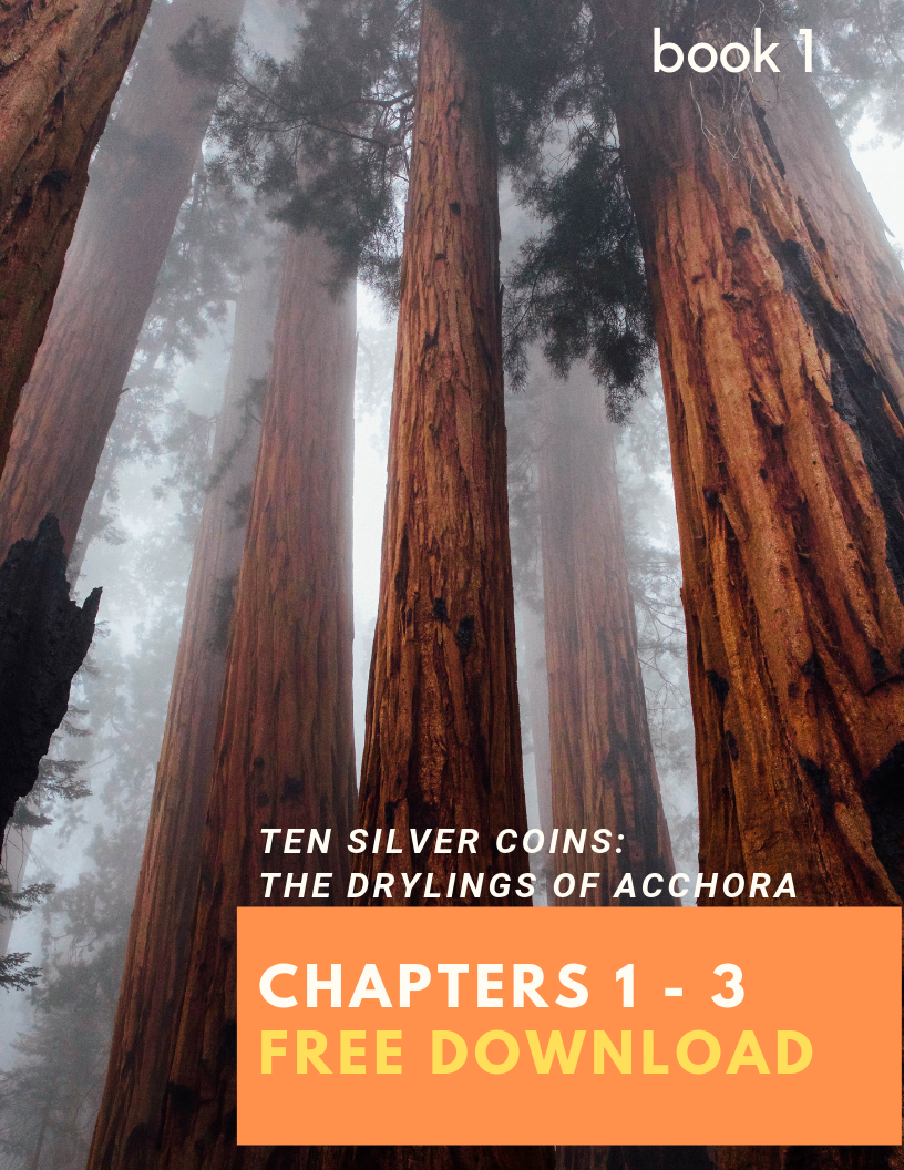 Free Download - First 3 Chapters of Ten Silver Coins: The Drylings of Acchora