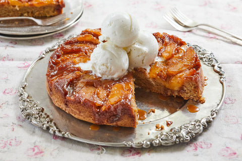 Sour Southern Apple Upside Down Cake
