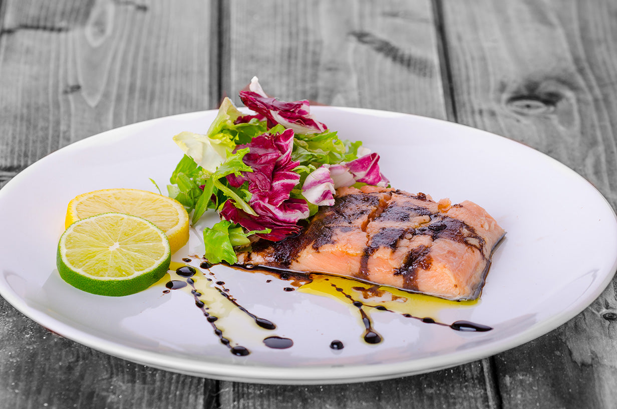 NOLA Blends Meyer Lemon & Balsamic Salmon