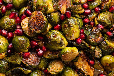 Sour Apple Glazed Brussels Sprouts