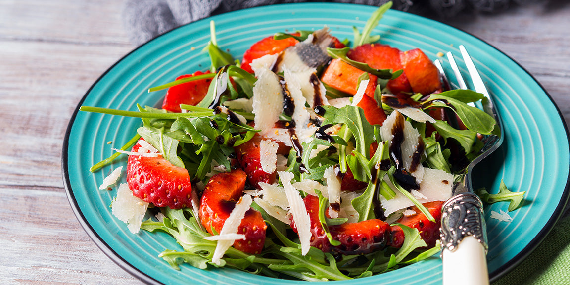 Strawberry, Arugula, Parm & Dark Chocolate Balsamic