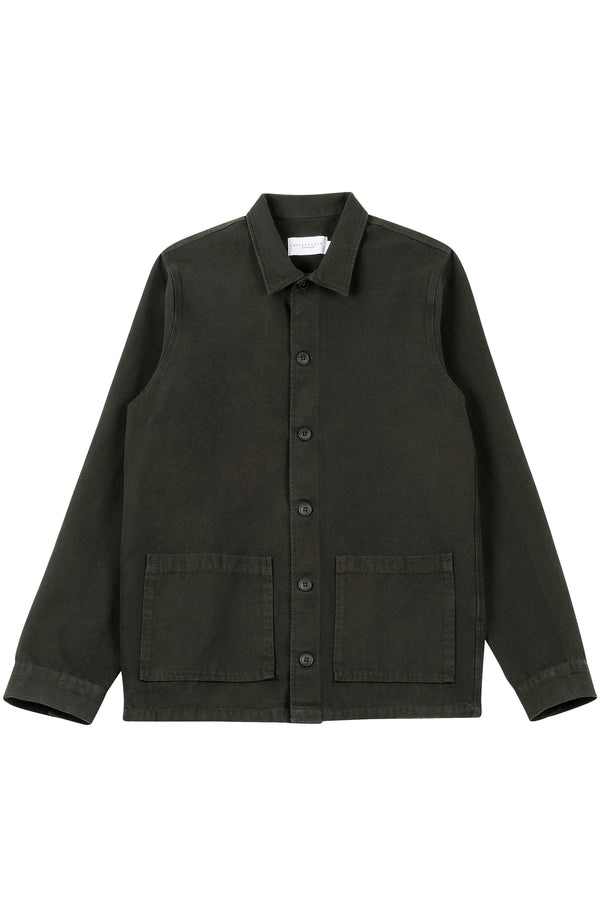 S'Arraco Jacket, Dark Green, Canvas Shirt, Skjorte, Jakke, Appearance - Appearance