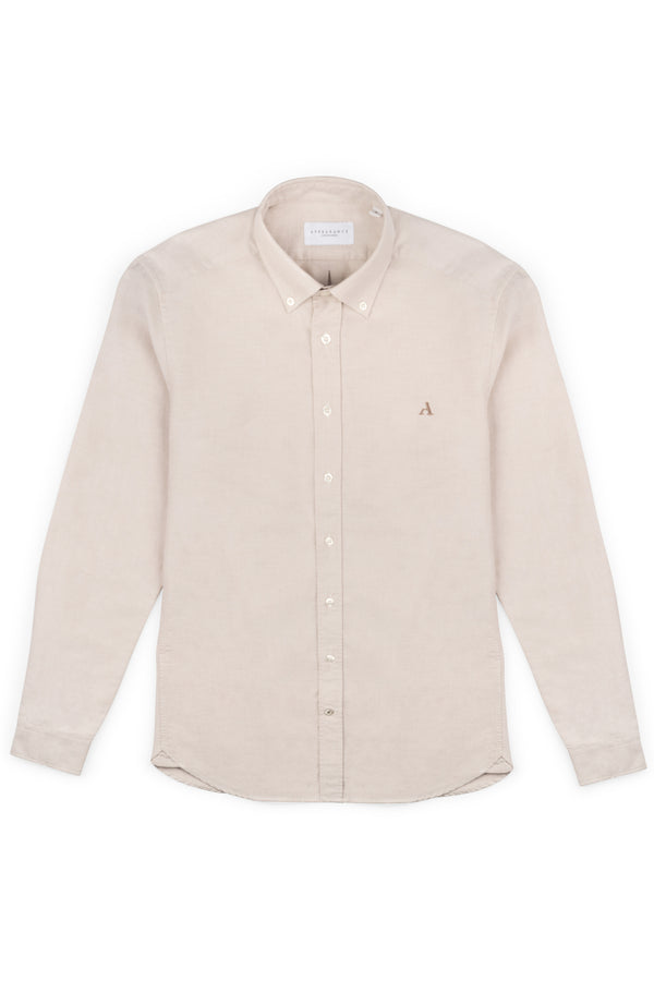 Primary Oxford Shirt, Sand, Oxford Shirt, Skjorte, Appearance - Appearance