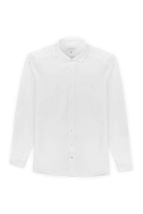 Primary Oxford Shirt, White, Oxford Shirt, Appearance - Appearance