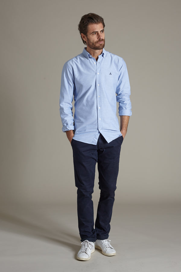 Primary Oxford Shirt, Light Blue, Oxford Shirt, Appearance - Appearance
