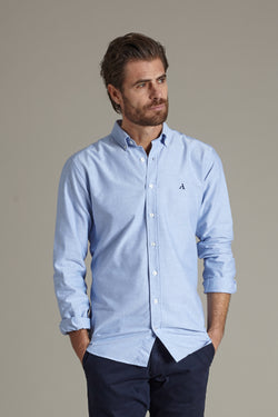 Primary Oxford Shirt, Light Blue, Oxford Shirt, Skjorte, Appearance - Appearance