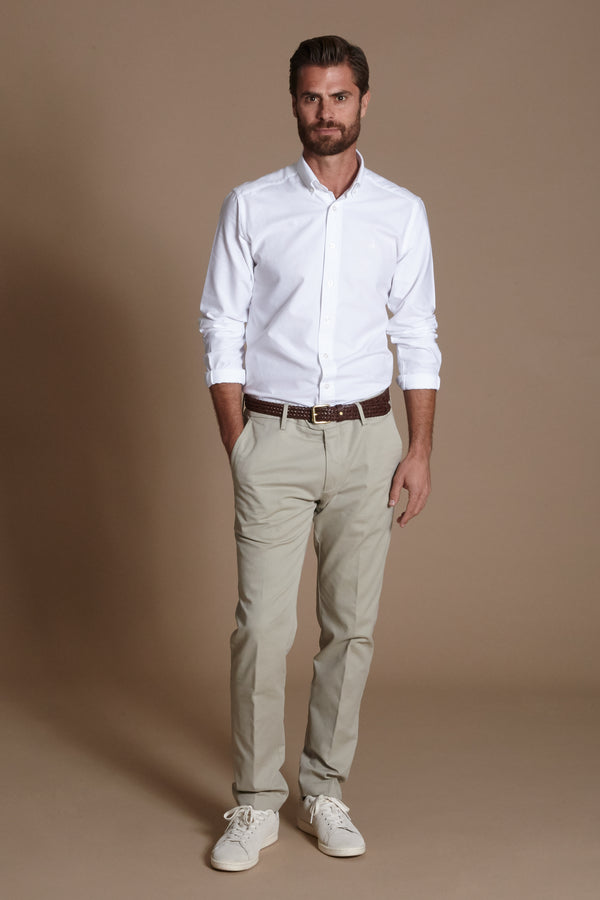 Primary Oxford Shirt, White, Oxford Shirt, Skjorte, Appearance - Appearance