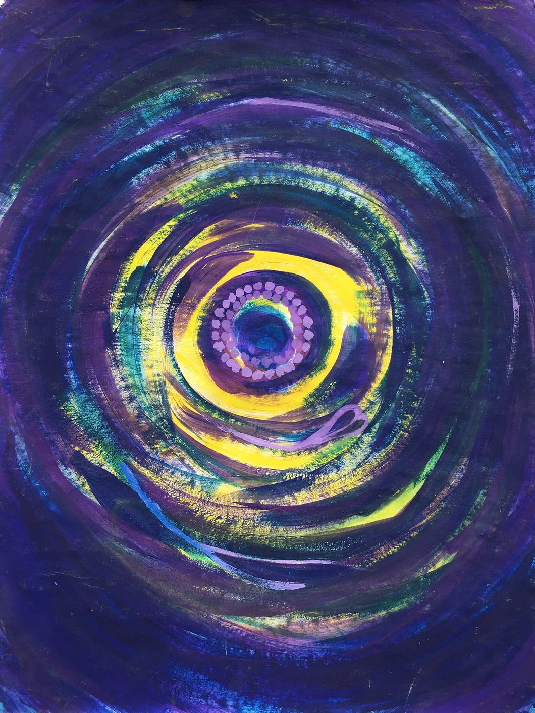 Purple Love Sacred Spiral