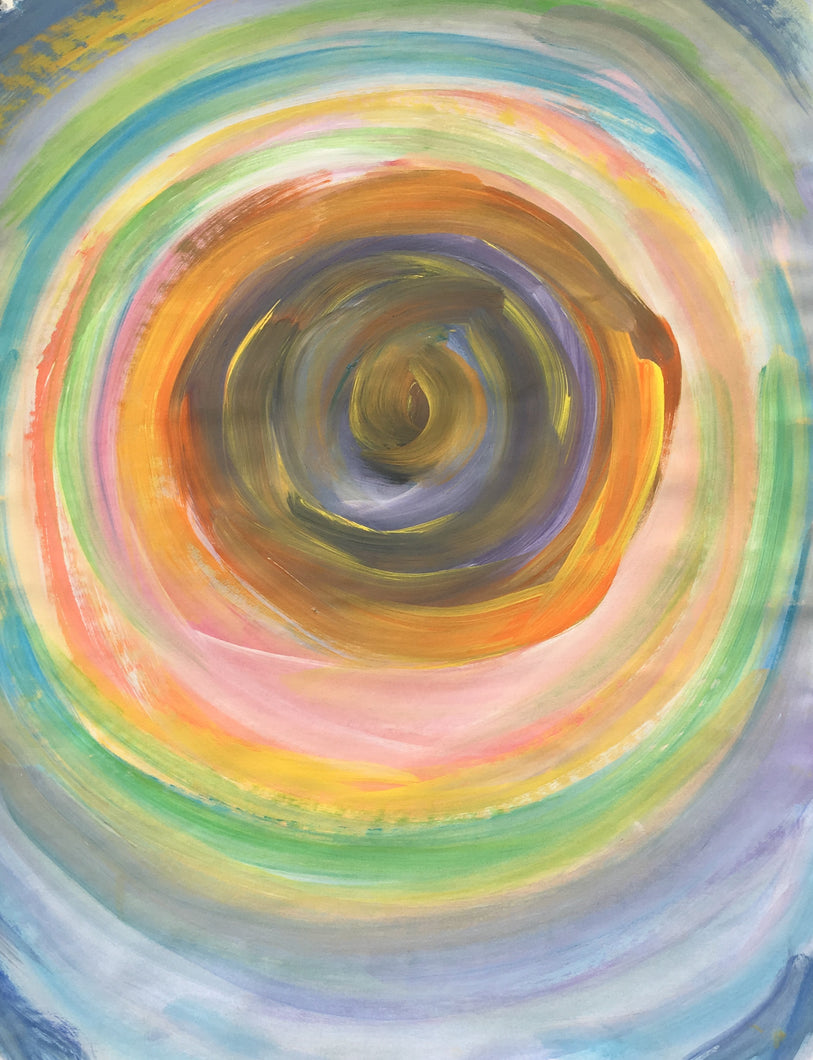 Eye of the Vortex Sacred Spiral