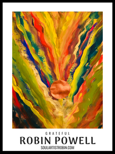 Grateful - Giclée Quality Poster