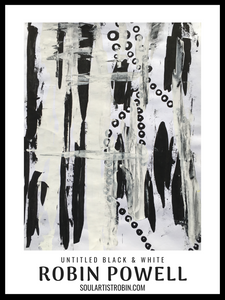 Untitled Black & White - Giclée Quality Poster
