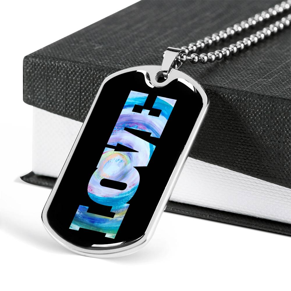 "Customizable ""LOVE"" Necklace"