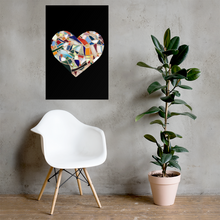 Load image into Gallery viewer, Black Love - Giclée Quality Poster