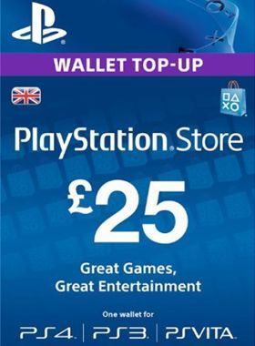 PlayStation Network Pre Paid 25 [UK]
