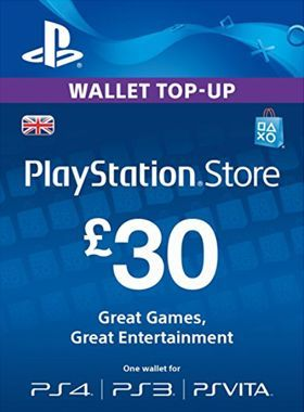 £30 PlayStation PSN Card UK