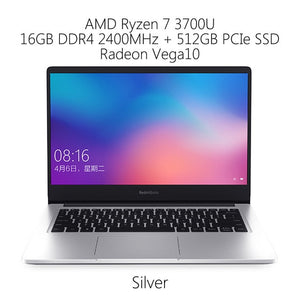 Original Xiaomi RedmiBook 14 Laptop Ryzen 5 3500U / 7 3700U 8GB RAM 512GB SSD Radeon Vega8 FHD Notebook PC